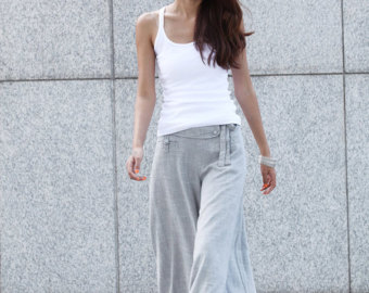 high waist slimming pants