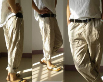 elastic waist cargo pants for men