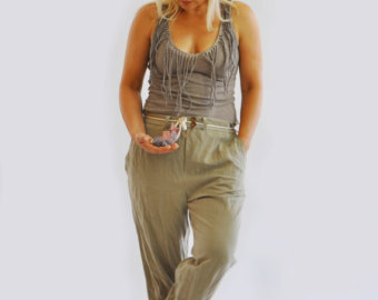 plus size casual pants
