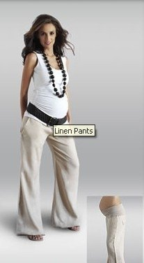 linen drawstring pants women