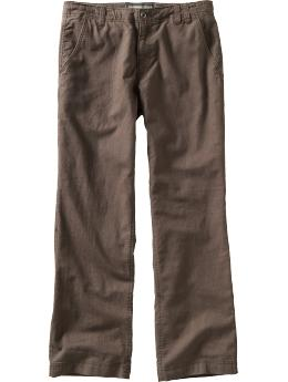 brown tweed pants