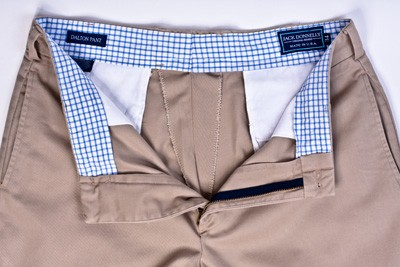 dress pants with suspender buttons