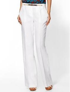 linen pants plus size women